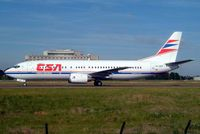 OK-DGN @ LFPG - Boeing 737-45S [28474] (CSA Czech Airlines) Paris-Charles De Gaulle~F 18/06/2003 - by Ray Barber