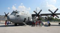 89-9105 @ BKL - C-130H - by Florida Metal