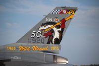 92-3920 @ TIX - F-16C Wild Weasel tail - by Florida Metal