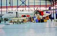 LN-RDF @ EKCH - Copenhagen in FLS Hangar 21.3.02 - by leo larsen
