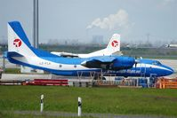 LZ-FLA @ EDDP - Two aircraft of bulgarian Bright Flight Air on small freighter area of apron 2. - by Holger Zengler
