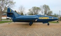 125992 - F9F-5 Panther Blue Angels in Bowling Green KY - by Florida Metal