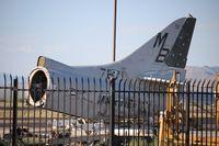 147671 @ AVQ - A-4L Skyhawk tail - by Florida Metal