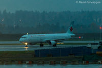 C-GJWN @ CYVR - Taxiing to domestic after landing westerly on north runway. - by Remi Farvacque
