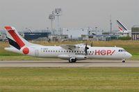 F-HOPY @ LFPO - ATR 72-600, Take off run rwy 08, Paris-Orly Airport (LFPO-ORY) - by Yves-Q