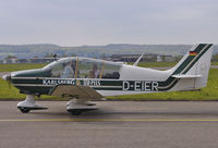 D-EIER @ EDDR - Sightseeing Flight during Open House at Saarbruecken Airport. - by Wilfried_Broemmelmeyer