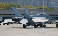 165808 @ BKL - F-18F - by Florida Metal