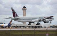 A7-BAC @ MIA - Qatar - by Florida Metal