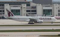 A7-BBH @ MIA - Qatar - by Florida Metal