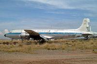 CP-1282 @ SLLP - Douglas DC-6 A/C [45530] (La Cumbre) La Paz-El Alto Int'l~CP 07/04/2003 - by Ray Barber