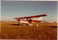 CF-EKY @ CYXD - Edmonton Municipal Airport 1975 - by Arnold Robinson