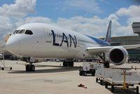 CC-BGF @ MIA - LAN 787-9 - by Florida Metal