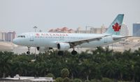 C-FDSN @ FLL - Air Canada - by Florida Metal