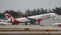 C-FIYA @ FLL - Air Canada Rouge - by Florida Metal
