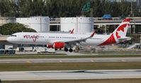 C-FJQD @ FLL - Air Canada Rouge - by Florida Metal