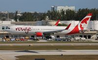 C-FMWP @ FLL - Air Canada - by Florida Metal