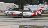 C-FMXC @ FLL - Air Canada Rouge