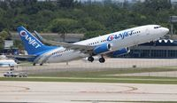 C-FYQO @ FLL - Canjet - by Florida Metal