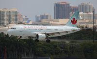 C-GBHN @ FLL - Air Canada - by Florida Metal