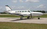 C-GIWP @ LAL - Cessna 404 - by Florida Metal