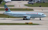C-GPWG @ FLL - Air Canada - by Florida Metal