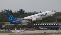 C-GTQB @ FLL - Air Transat - by Florida Metal