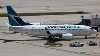 C-GWBF @ FLL - Westjet - by Florida Metal