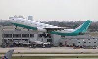 CS-TFZ @ MIA - HiFly A330-200