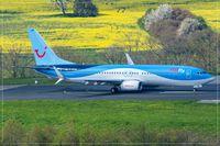 D-ATUR @ EDDR - Boeing 737-800 - by Jerzy Maciaszek