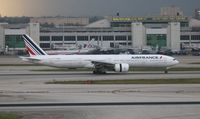 F-GZNK @ MIA - Air France - by Florida Metal