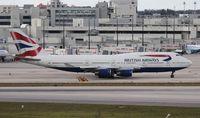 G-BNLV @ MIA - British 747