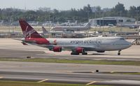 G-VFAB @ MIA - Virgin Atlantic