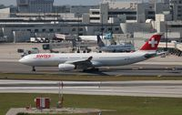 HB-JHH @ MIA - Swiss Air