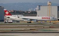 HB-JMO @ LAX - Swiss