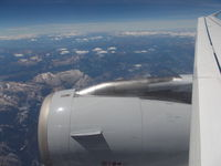 D-AIRX - Lufthansa A321 Wing Enroute from MUC-FCO over Alps - by Christian Maurer