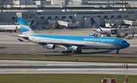 LV-CSE @ MIA - Aerolineas Argentinas