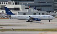 LV-ZPJ @ MIA - Aerolineas Argentinas