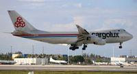 LX-UCV @ MIA - Cargolux