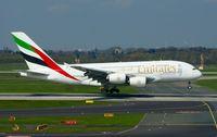A6-EER @ EDDL - Emirates, is here landing at Düsseldorf Int'l(EDDL) - by A. Gendorf