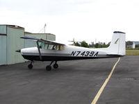 N7439A @ 0Q9 - Locally-based 1956 Cessna 172 Skyhawk @ Sonoma SkyPark Airport, CA - by Steve Nation
