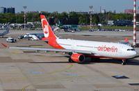 D-ALPF @ EDDL - Air Berlin A332 ready for its next flight. - by FerryPNL