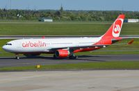 D-ALPG @ EDDL - Air Berlin A332 arrived in DUS - by FerryPNL