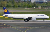 D-AIRE @ EDDL - Lufthansa A321 - by FerryPNL