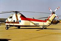 N58NS @ KLGB - Sikorsky S-58D [58-1453] (Commercial) Long Beach~N 11/10/1998