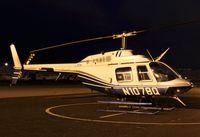 N1078Q @ KRHV - Aris Leasing Inc (Sunnyvale, CA) 1978 Bell 206B parked on the Nice Air ramp at Reid Hillview Airport, San Jose, CA. - by Chris Leipelt