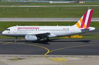 D-AGWB @ EDDL - Germanwings A319 departing. - by FerryPNL