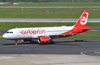 D-ABFE @ EDDL - Air Berlin A320 arrived in DUS. - by FerryPNL