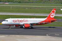 D-ABZB @ EDDL - Air Berlin A320, ex EI-DSS. - by FerryPNL