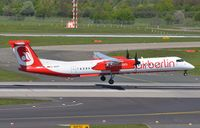 D-ABQP @ EDDL - Air Berlin Dash 8 landing. - by FerryPNL