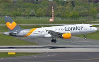 D-AICD @ EDDL - Condor A320 landing in DUS. - by FerryPNL